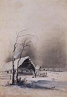 Early spring, c.1890, savrasov