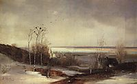 Early spring.Dali, c.1870, savrasov