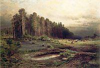 Elk Island in Sokolniki, 1869, savrasov
