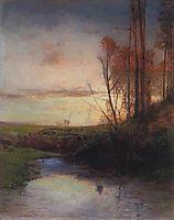 Evening, 1880, savrasov