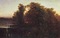 Evening Landscape, 1861, savrasov