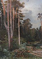 Forest road in Sokolniki, c.1860, savrasov