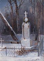Grave, 1884, savrasov