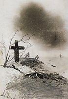 Grave, c.1870, savrasov