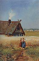 Kutuzovskaya hut at Fili, c.1860, savrasov