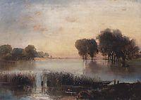 Landscape with a River, savrasov