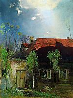 Little House in the province. Spring, 1878, savrasov