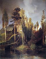 Monastery Gates, 1875, savrasov