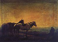 Night, 1871, savrasov