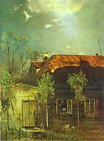 A Provincial Cottage. Spring, 1878, savrasov