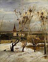 The Rooks Have Arrived, 1871, savrasov