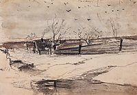 Savvinskaya Sloboda, c.1890, savrasov