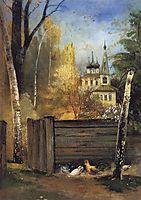 Spring, c.1890, savrasov