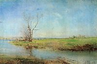 Spring, c.1875, savrasov