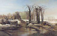Spring Day, c.1873, savrasov