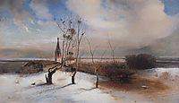 Spring.The Rooks HaveArrived., 1872, savrasov
