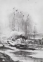 Strongly melts, 1894, savrasov