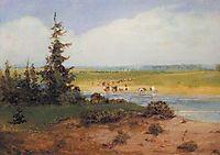 Summer Landscape, 1850, savrasov