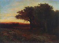Sunset, 1862, savrasov