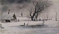 Thaw, 1887, savrasov