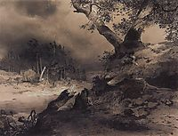 Thunderstorm, 1856, savrasov