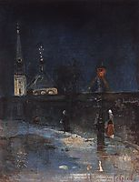 To matins, 1890, savrasov