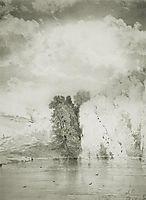 Trees near the lake, 1868, savrasov