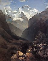 Type in the Swiss Alps (Mount Small Ruhen), 1862, savrasov