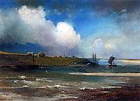 View ofVolganearYurievts, c.1870, savrasov