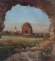 Village Bulgarians, 1872, savrasov
