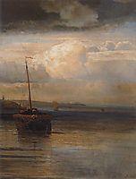 Volga.Landscape, 1870, savrasov