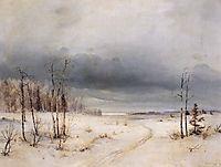 Winter, c.1870, savrasov