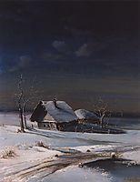 Winter Landscape, 1871, savrasov