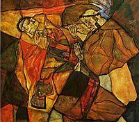 Agony, 1912, schiele