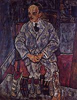 The Art Dealer Guido Arnot, 1918, schiele