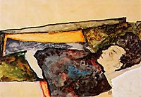 The Artist-s Mother, Sleeping, 1911, schiele