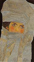 The Artist-s Sister, Melanie, 1908, schiele