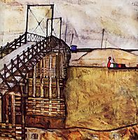 The Bridge, 1913, schiele