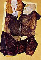 The Brother, 1911, schiele