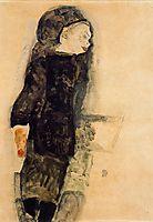 Child in Black, 1911, schiele