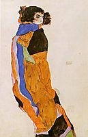 The Dancer Moa, 1911, schiele