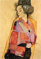 The Daydreamer (Gerti Schiele), 1911, schiele