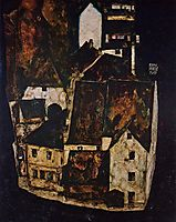 Dead City (City on the Blue River), 1911, schiele