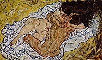 The Embrace, 1917, schiele
