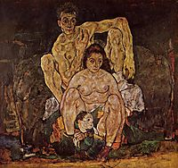 The Family, 1918, schiele