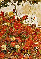Field of Flowers, 1910, schiele