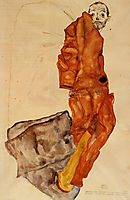 Hindering the Artist is a Crime, It is Murdering Life in the Bud , 1912, schiele
