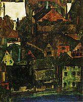 Krumau, 1911, schiele