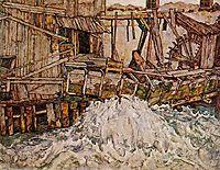 The Mill, 1916, schiele
