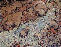 Mountain Torrent, 1918, schiele
